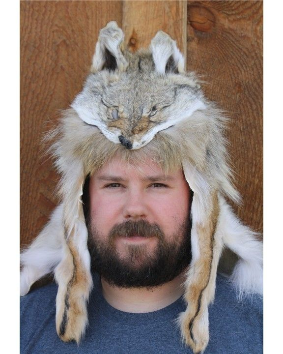 a22ad1b46cfbe Discover ideas about Mountain Man Style. Glacier Wear Coyote Mountain Man Fur  Hat ...