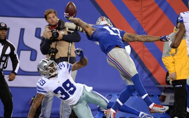 There's a new angle of Odell Beckham Jr's catch. (USATSI)