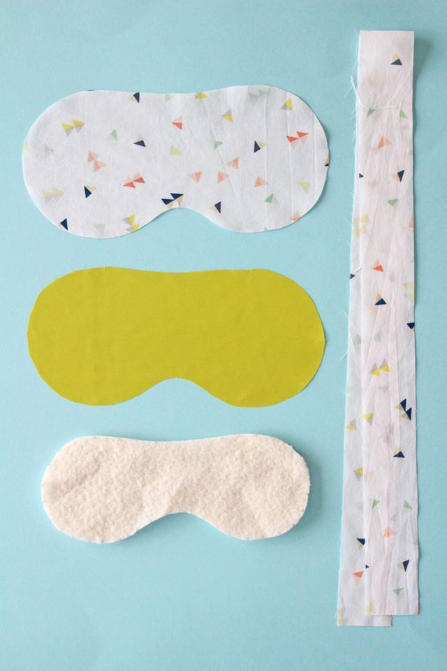 There's something so indulgent about slipping on an eye mask to help you get enough beauty sleep during light Summer nights… particularly when it matches your frillies! We couldn't resist making an ey