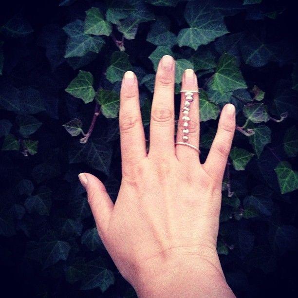 Nye perla i dag :D  #diy  #diyring  #ring  #knucklering  #jewelry  Sååå fine #ferskvannsperla !