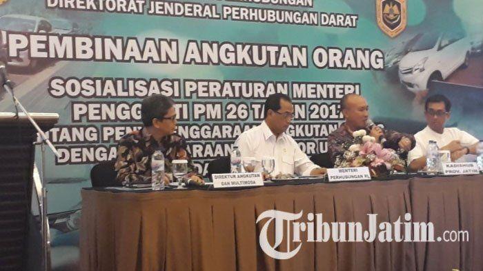 Asosiasi Driver Online Jawa Timur Meminta Hal Ini Jika Permen 26 Tahun 2017 Diterapkan