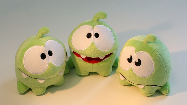 Cut the rope plushies