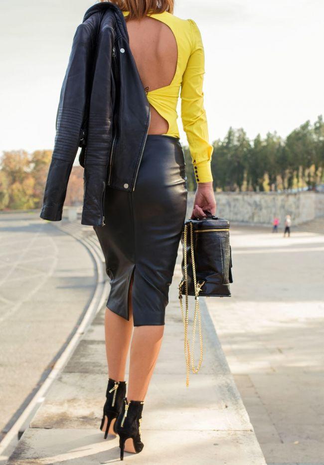 Sfaturi pentru pasionatele de moda. Cum sa porti geaca de piele ca sa fii cool