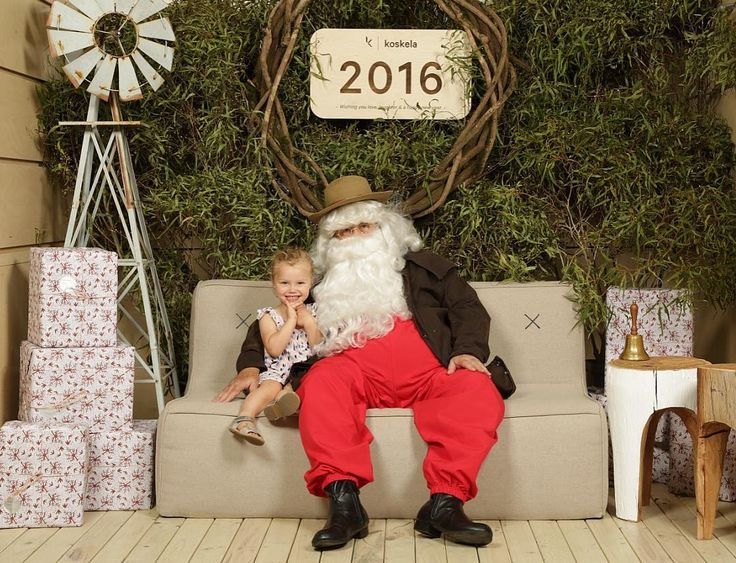 We're flying through our Santa photos and can happily squeeze more people in! Pop on down to Koskela today (Dec 11) and you can purchase a very special Aussie Santa photo with us in store for $35