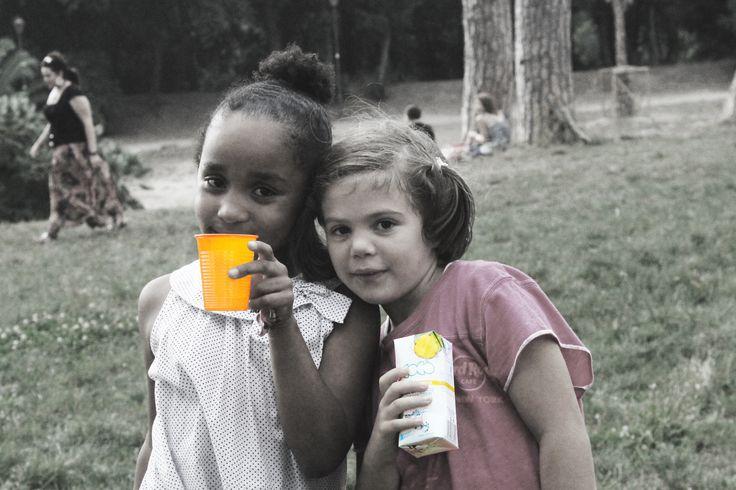 Las amigas....con Acqua di Cocco