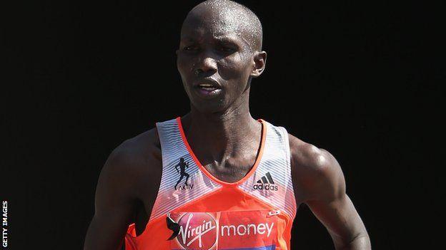 Wilson Kipsang breaks marathon world record today at 2:03:23!!!