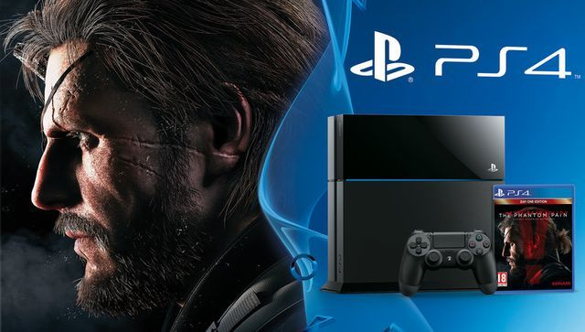 THE PHANTOM PAIN : PS4 BUNDLE