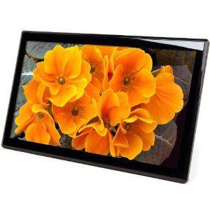 micca m1709z 17 inch 1600x900 high resolution digital photo frame with 8gb usb memory