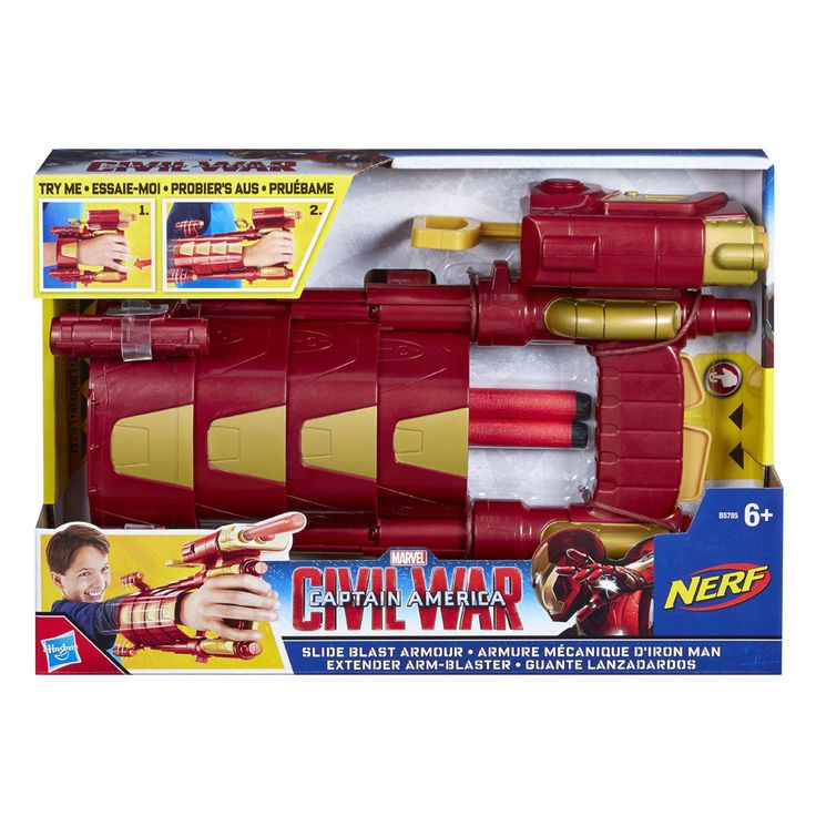 Captain America Civil War Iron Man Slide Blast Armor | Bart Smit