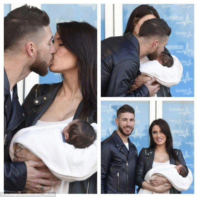 sportspree :: Sergio Ramos and girlfriend watch as Real Madrid Basketball team lost to bitter rivals Barcelona (Photos)