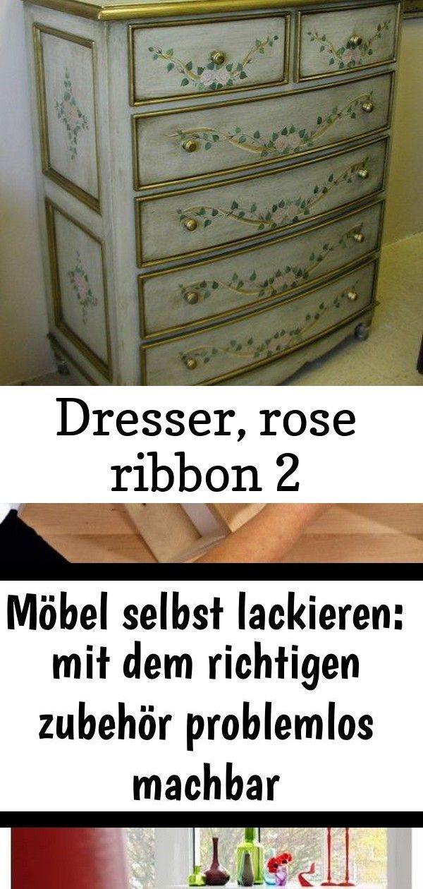 Dresser Rose Ribbon 2 Dresser Decor Antique Dresser