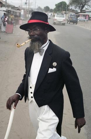 The fashionable Sapeur culture, Congo