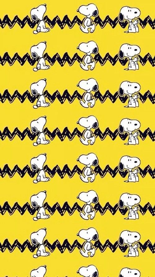 Snoopy and Charlie Brown, Graphic Design Wallpaper, the Peanuts Gang, illustration