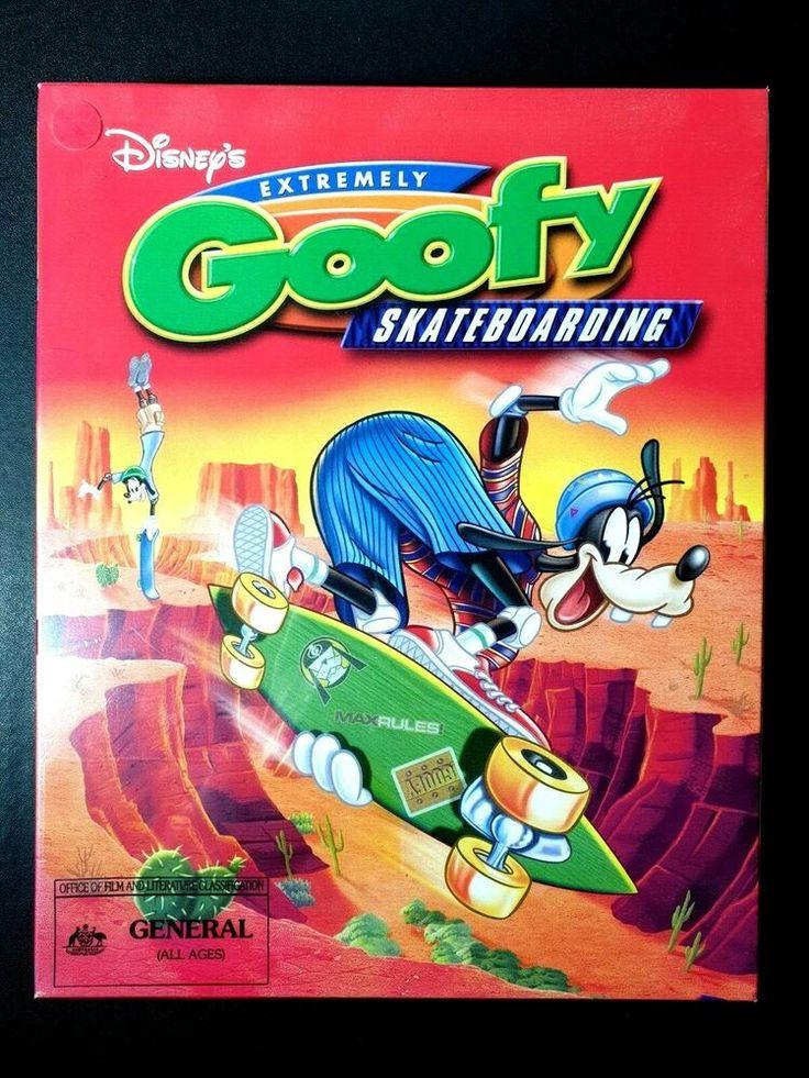 Disneys extremely goofy skateboarding big box pc game