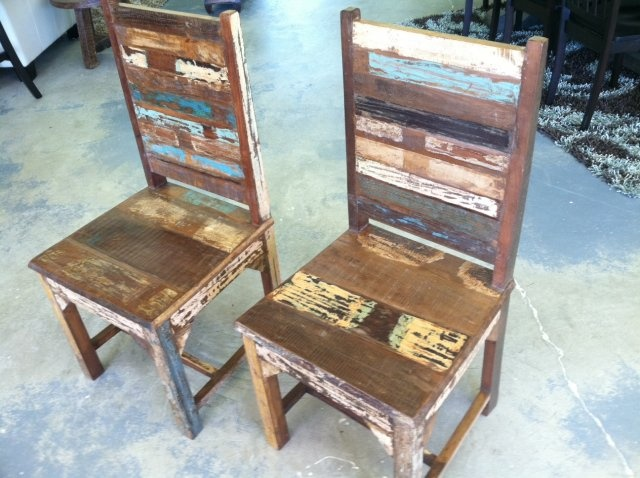 Reclaimed Teak Dining Chairs Dining Tables Amp Chairs