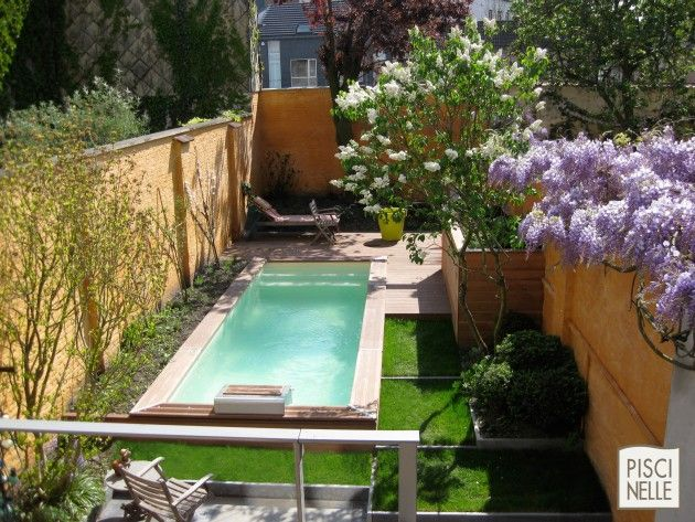 Piscine jardin jardins pinterest - Mini piscine naturelle ...