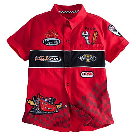 Lightning McQueen Shirt for Boys - Personalizable | Tees, Tops & Shirts | Disney Store