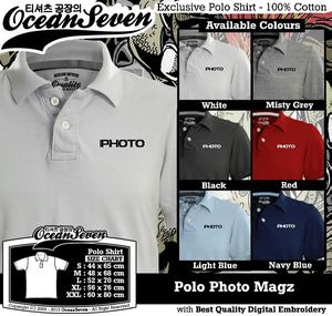 Kaos Polo Photo Magz - PIN BB: 26460DF6