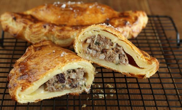Maggie Beer's Fig and Fennel Pork Pasties