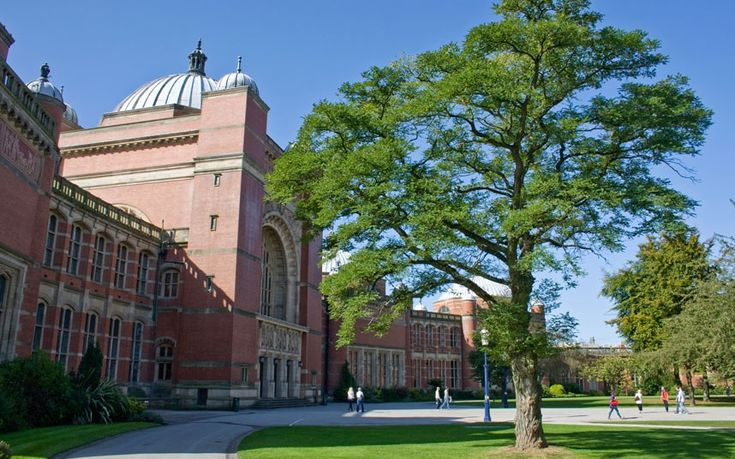 Despite its location in the centre of UK's sprawling and industrial second city, Birmingham University's red brick constructions – such as the Aston Webb building shown here – are among the country's most elegant.  Picture: Alamy