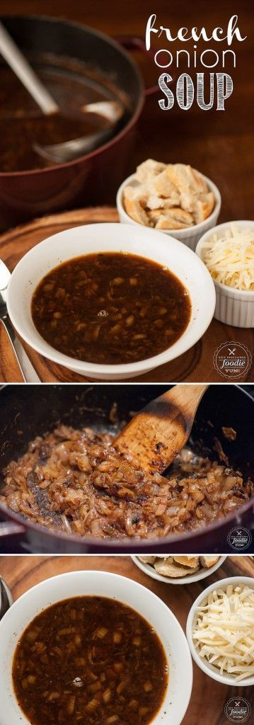 There are a few secrets to developing insanely delicious flavor in a bowl of homemade French Onion Soup, and this recipe is the best I've ever enjoyed!