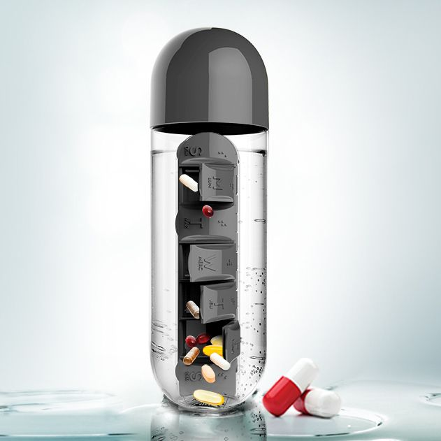 Best 25 pill organizer ideas on pinterest travel for Pill bottle storage rack
