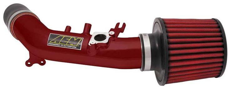 AEM 2006-2007 Honda Civic Si Red Short Ram Air Intake System