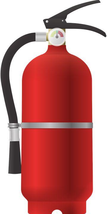 소화기 벡터 이미지입니다.   fire extinguisher  vector image