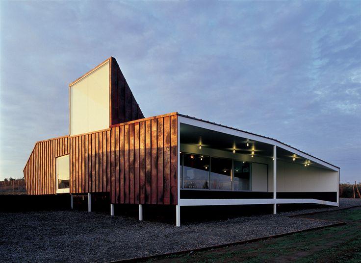Casa de Cobre 2 en Talca, Región del Maule, Chile   Smiljan Radic. #arquitecturacobre