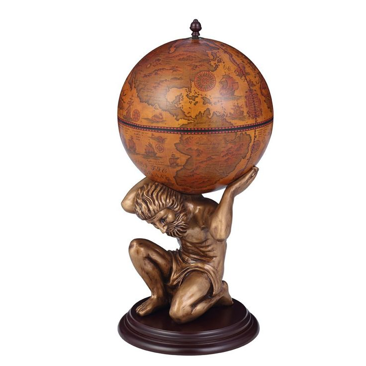 Atlas Holding Globe  #AtlasHoldingGlobe  #Atlas  #Globe  #Antiques  #Kamisco