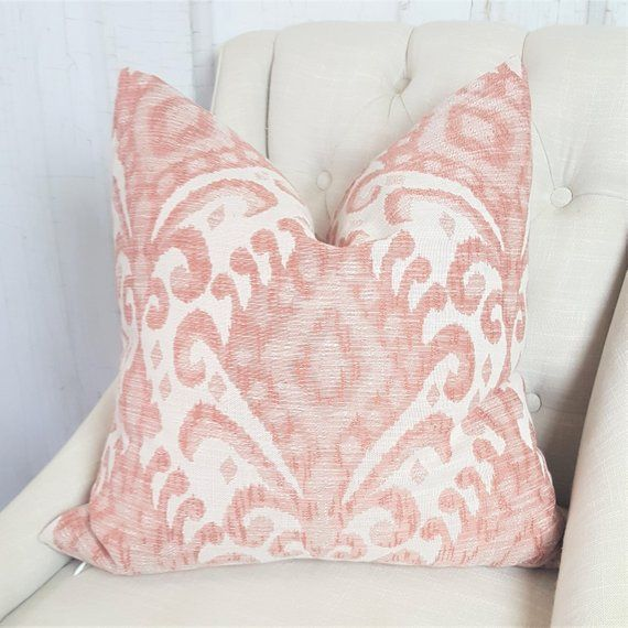 Enjoyable Coral Pillow Cover 24X24 26X26 22X22 20X20 18X18 16X16 Coral Beatyapartments Chair Design Images Beatyapartmentscom