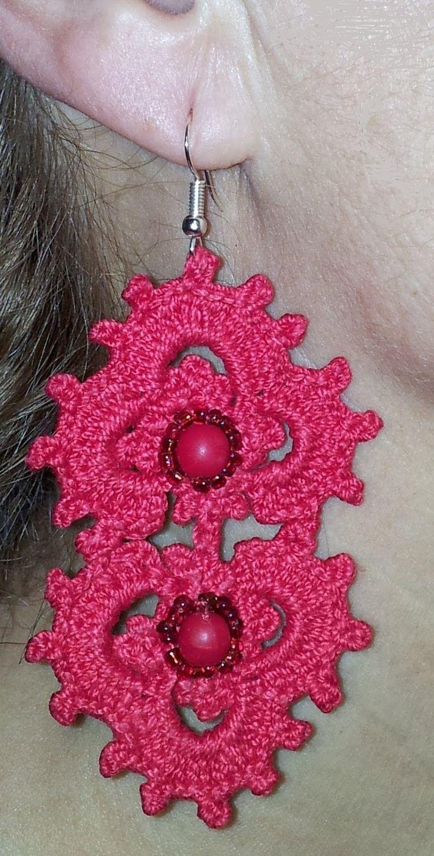 TUTORIAL orecchini uncinetto IMPERO earrings crochet