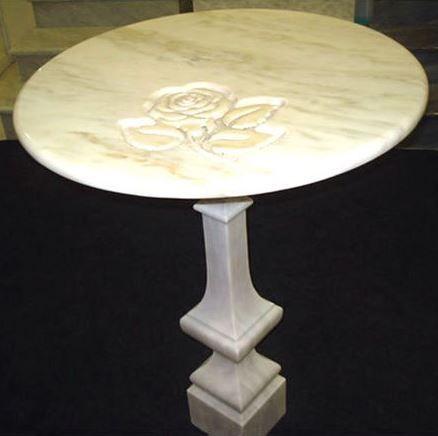 Мраморные столы и детали мебели