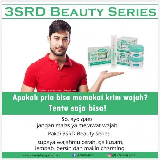 Cream Pencerah Wajah Cowok atau Pria yang Terbaik: 3SRD Beauty Series | Contact us: Pin: D537A6EE, WA: 0856-2322-435, Line: @yty1701c (pakai @)