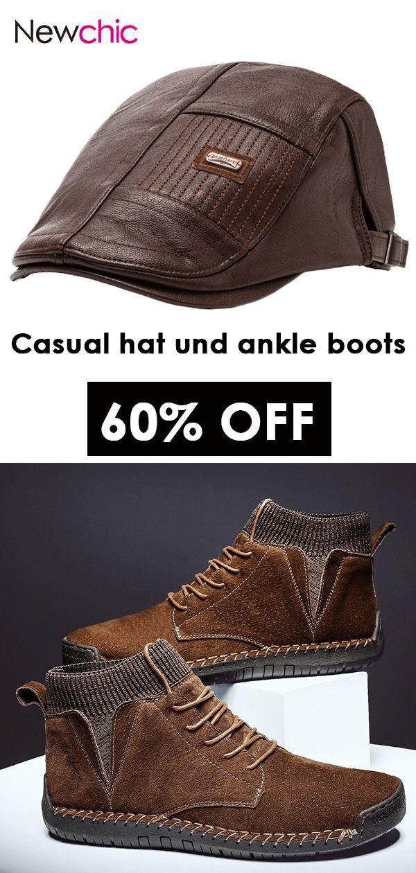 Men Suede Non Slip Casual Boots Casual