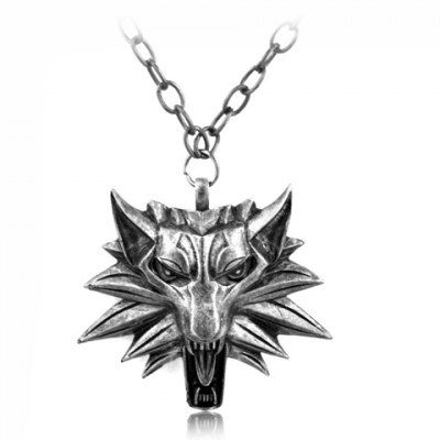 Fantastic Wolf Shape Pendant Necklace For Men #hats, #watches, #belts, #fashion, #style