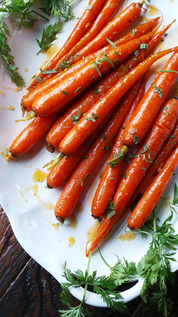 Marmalade & Ginger Glazed Carrots