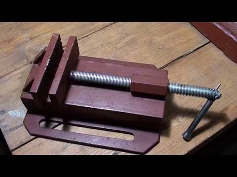 Самодельные тиски / Homemade vise - YouTube