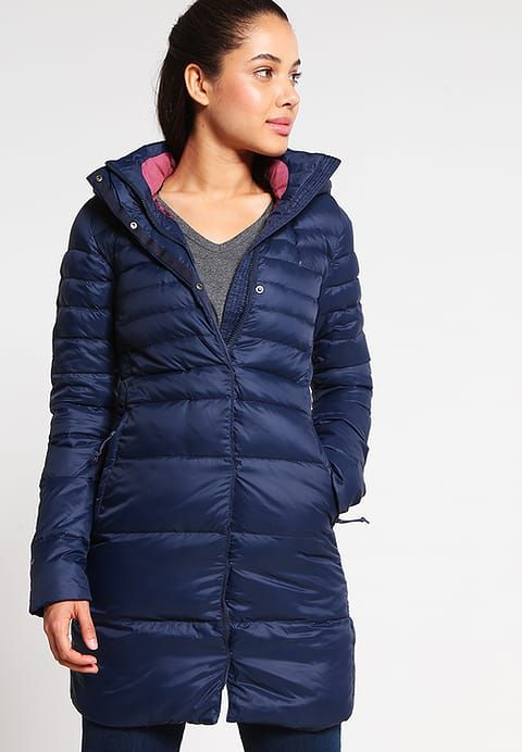 The North Face KINGS CANYON - Daunenmantel - dunkelblau/rosa - Zalando.de  90% 10 %
