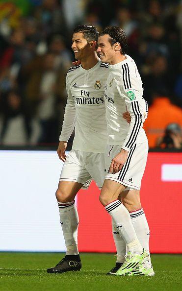 Un par de merengues: Cristiano Ronaldo y Gareth Bale.