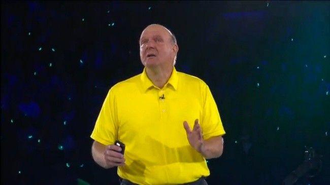 Steve Ballmer da un emotivo discurso de despedida entre empleados de Microsoft  http://www.genbeta.com/p/103970