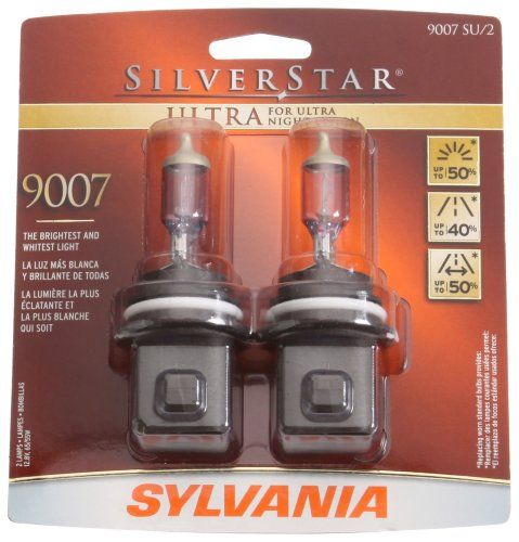 Sylvania 9007 SU SilverStar Ultra Halogen Headlight Bulb (Low/High Beam), (Pack of 2) Sylvania http://www.amazon.com/dp/B000M5Y72A/ref=cm_sw_r_pi_dp_MB6Ltb172HSHSSWQ
