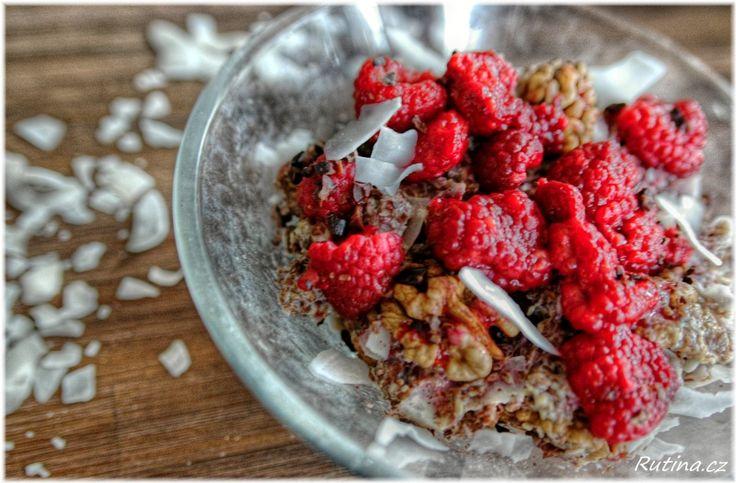 Rutina - Teplá kokosovo-lněná snídaně