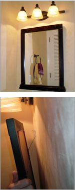 How to install bathroom mirrors new home decor for Types of bathroom mirrors