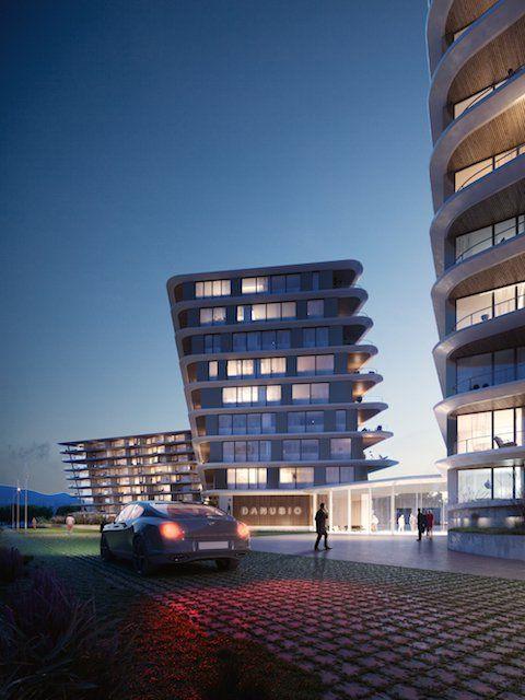 Der digitale Algorithmus ändert die Konfiguration von Wohnungen in Gebäuden an der Donau - Die Architektur ideen 2019