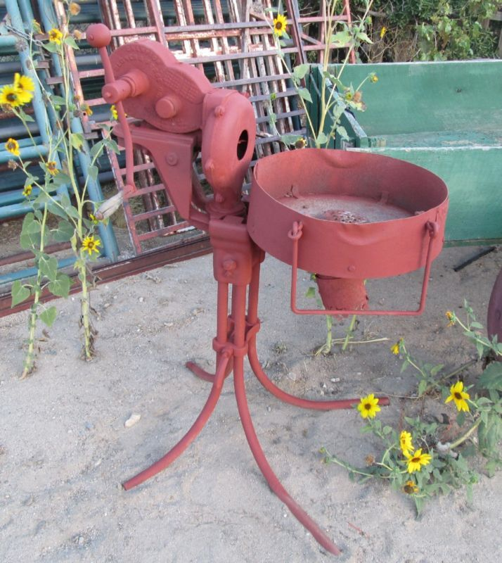 champion forge blower. antique champion 401 forge w blower useable condition works good repainted 1901 i