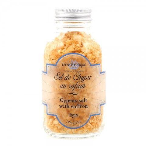 Sel de Chypre au Safran - Cyprus salt with saffron