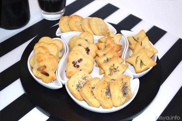 Frollini al parmigiano, scopri la ricetta: http://www.misya.info/2014/02/23/frollini-al-parmigiano.htm