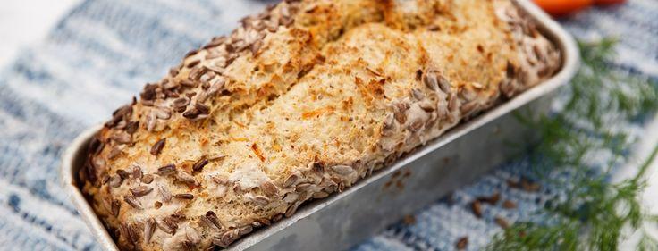 Glutenfritt Morotsbröd | Kronjäst