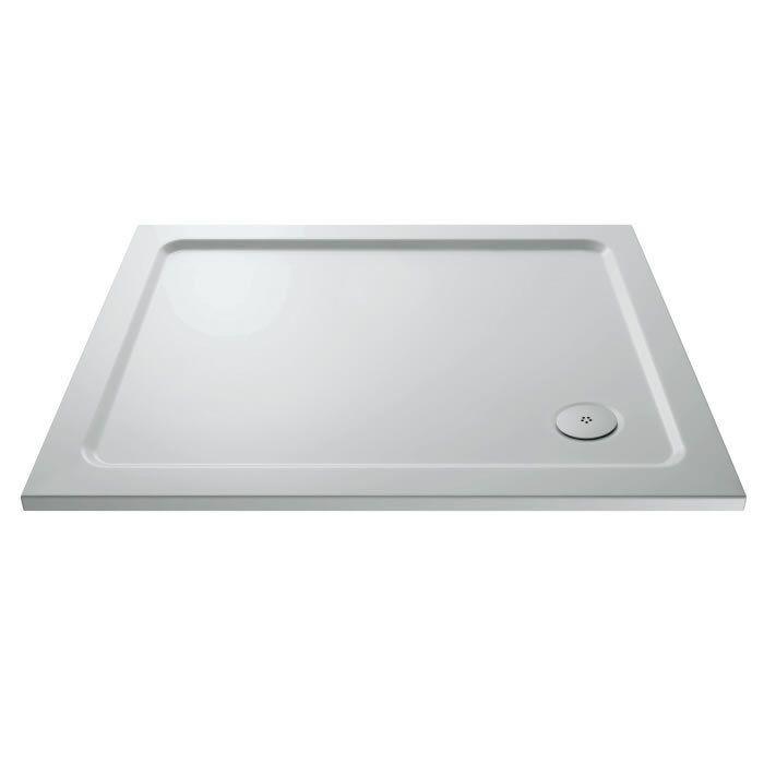 Hudson Reed Pearlstone Rectangular Slim Wet Room Shower Tray 1000mm x 900mm New